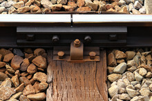 Railroad Track Seams And Sleepers