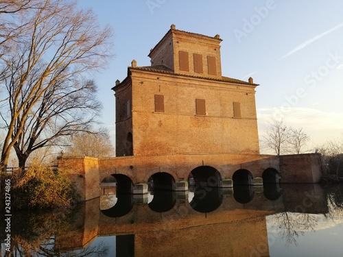 Fotografie, Obraz  monastero sul lago