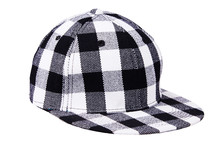 Checkered Black With White Bas...