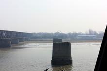 Yalu River Broken Bridge Piers