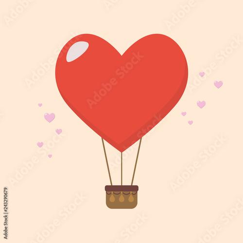 Fotografia  Big heart balloon