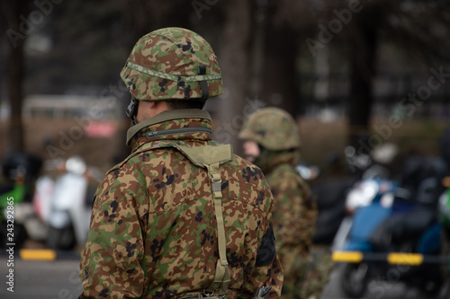 Photo  陸上自衛隊の自衛官
