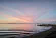 Garry Point Beach Dawn. Garry Point at dawn in Steveston, British Columbia, Canada.