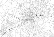 Area Map Of Ho Chi Minh City, Vietnam