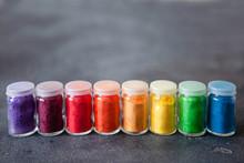 Bright Colourful Powdered Pigm...