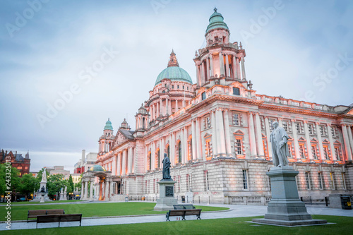Fotografie, Obraz Belfast City Hall, Northern Ireland, UK