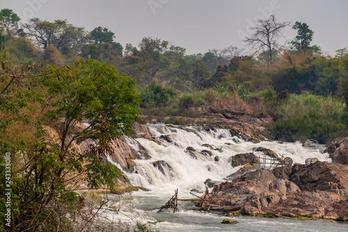Fényképezés  Mekong Falls, Don Khon, Laos