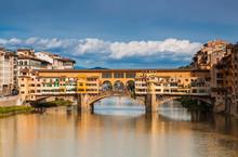 The Ponte Vecchio Bridge In Fl...