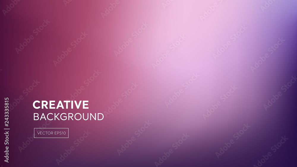 Fototapety, obrazy: Abstract gradient blend purple pink background