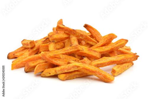 Obraz frytki ze słodkich ziemniaków - fototapety do salonu