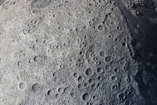 A Picture Of Craters On The Su...
