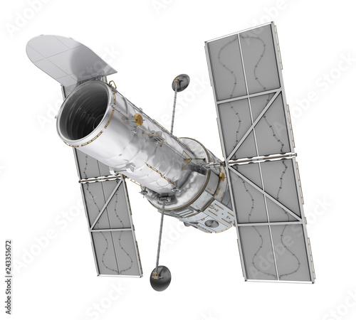 Obraz na płótnie Hubble Space Telescope Isolated