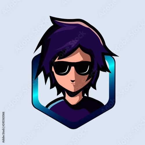 View Cartoon Gamer Boy Logo Images