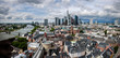 Frankfurt city aerial view Germany