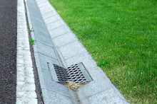 Gutter Of A Stormwater Drainag...