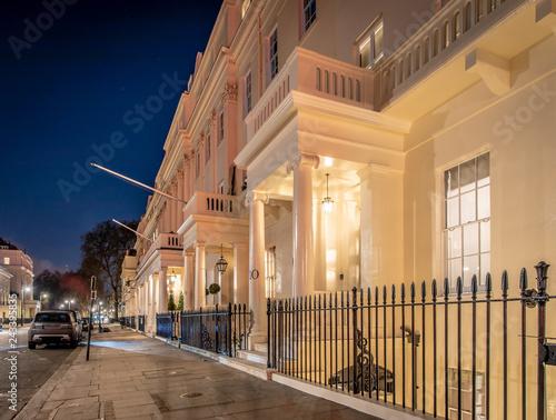 Fotografie, Obraz  Posh house in Belgravia, London