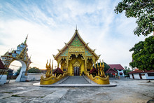 Khuean Mueang Pa Kha Tai Temple In Chiang Rai Province