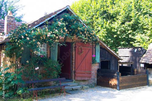 Foto  Original altes Bauernhaus, Freilichtmuseum Elsass