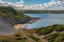 North Sea Coast In North Yorks...