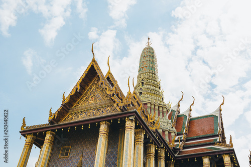 Foto  The beauty of the Emerald Buddha Temple