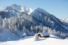 Winter Onderland In Austrian A...
