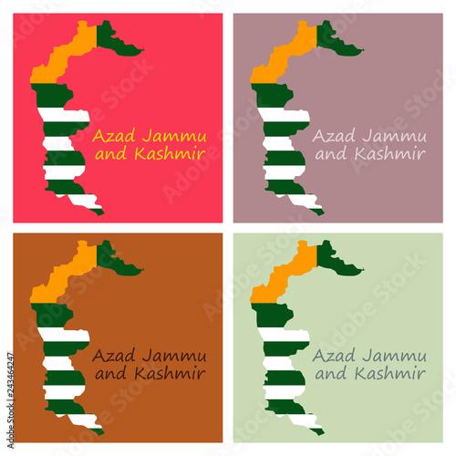 Pakistan Administrative Units Azad Jammu - Berkshireregion