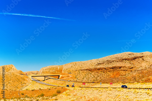 Spoed Foto op Canvas Centraal-Amerika Landen Beautiful scenic views of the state of Nevada.