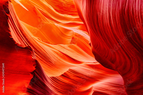 Spoed Foto op Canvas Centraal-Amerika Landen Antelope Canyon is a slot canyon in the American Southwest.