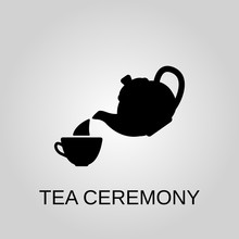 Tea Ceremony Icon. Tea Ceremon...
