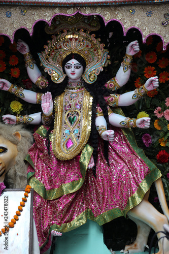 Goddess Durga. Goddess Durga is popular amongst Hindu Bengalis, and is worshipped with enthusiasm by her devoted followers