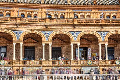 Tuinposter Europa Plaza de España, Sevilla, Spain
