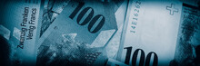 Swiss New Banknotes.  Web Banner.