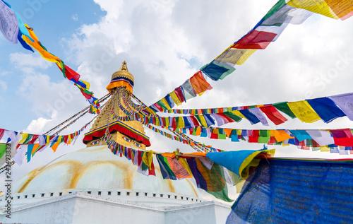 Fotografie, Obraz  Boudhanath Stupa in Kathmandu, Nepal