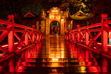 Ngoc Son Temple. Hanoi City Ol...