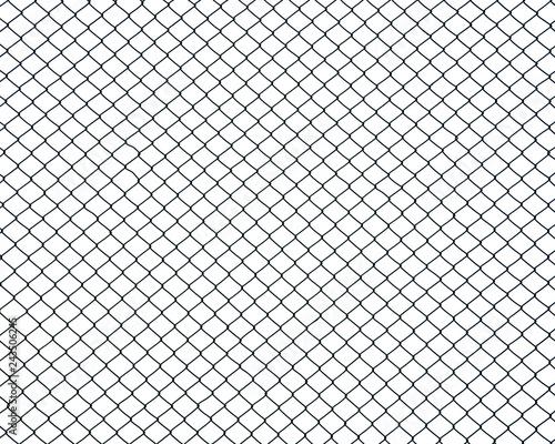 Fotografia, Obraz cage metal wire on pale white background