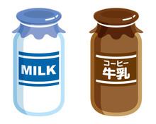 牛乳瓶 コーヒー牛乳