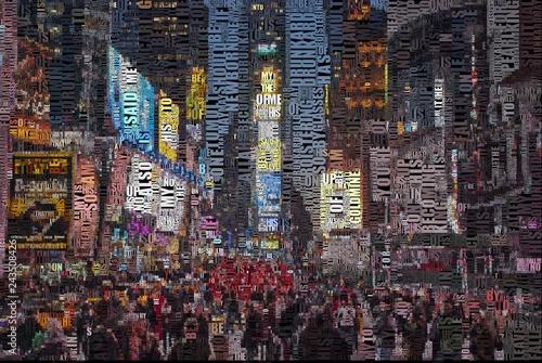 Fotografia, Obraz  Time square