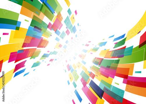 Fototapeta 背景 デジタル カラフル