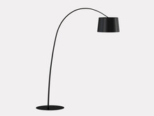 Floor Lamp On A White Backgrou...