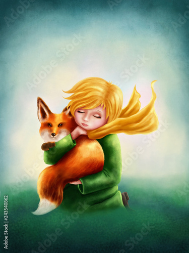 Little Boy and Fox