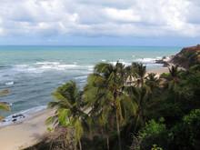 Pipa Beach And Baia Dos Golfinhos - Beach Of Natal, Rio Grande Do Norte, Northeastern Coast Of Brazil