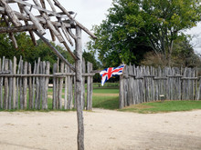 Old Fort Jamestown, Virginia, ...