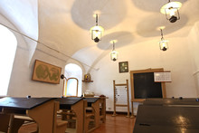The Interior Of The School Of ...