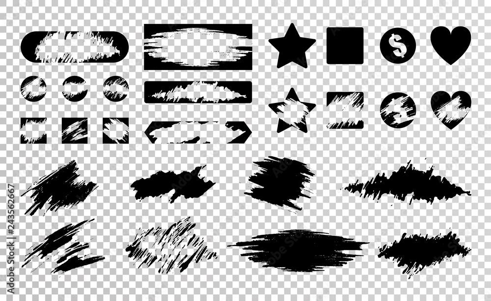 Fototapety, obrazy: Scratch Card Set