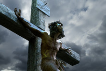 Jesus Christ On The Cross, 3d Render