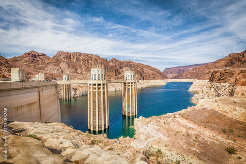 Poster Centraal-Amerika Landen Hoover Dam, Nevada, USA