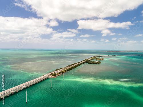 Florida keys aerial Canvas-taulu
