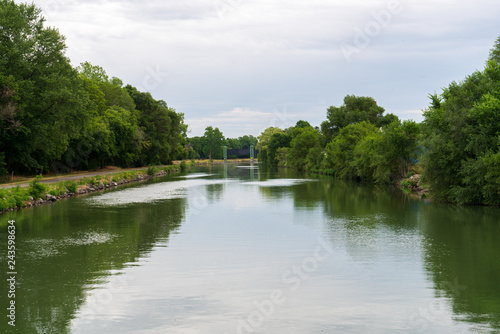 Fényképezés  Erie Canal Locks in Lockport, NY