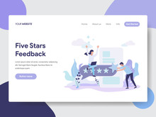 Landing Page Template Of Five ...