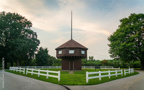 Mad Anthony Wayne Blockhouse in Erie, PA Canvas Print